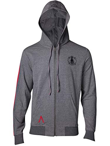Assassin's Creed Sweatshirt Odyssey - Taped Sleeve - Hoodie Grey-S