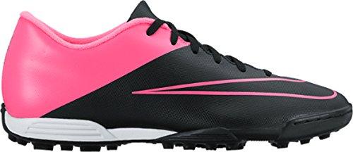 Nike Herren Mercurial Vortex II TF Fußballschuhe, Schwarz/Pink (Schwarz/Schwarz-Rosa-Hypr Hypr KNP), 39 EU