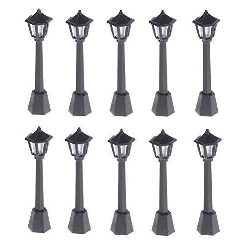 AOWA - Lámpara de calle (10 unidades), diseño de hadas
