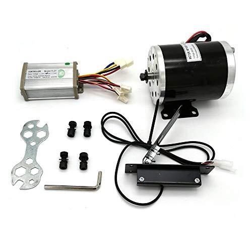 Kit de conversión para bicicleta eléctrica Gokart, bicicleta eléctrica con regulador y pedal, 2800 rpm, 36 V CC, 800 W, motor de cepillo para Go Karts, scooters, bicicletas eléctricas