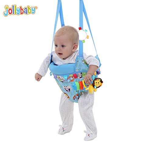 Aodicon Baby Doorway Bumper Jumper,Toddler Toy Fitness Swing Jumping Dual-purpose Park Bebek Chairs Rocking Cradle Baby Jumpers and Bouncers