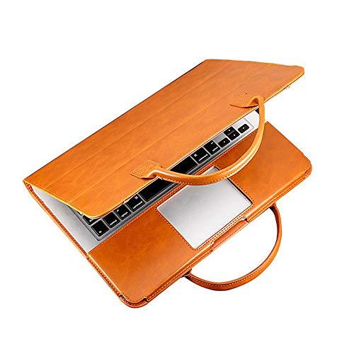 Khcr Apple Laptop-Tasche MacBook Pro Laptop-Tasche Ledertasche Luftpolstertasche für MacBook Pro/Air 13,3