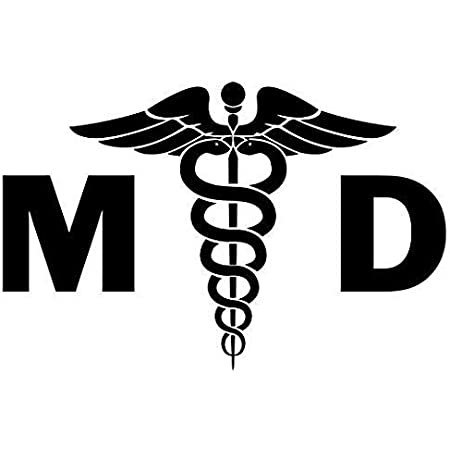 Medical Symbol Sticker Car Motorcycle Laptop Truck Wall Window Door Decal