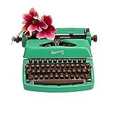 Schreibmaschine grün | vintage design