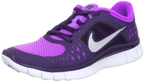 Nike Lady Free Run+ V3 - Zapatillas de running para mujer, Mujer, 510643-505, morado, 36 EU