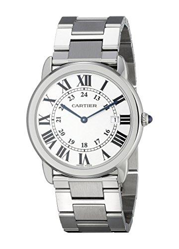 Cartier W6701005 - Reloj para Hombres, Correa de Acero Inoxidable