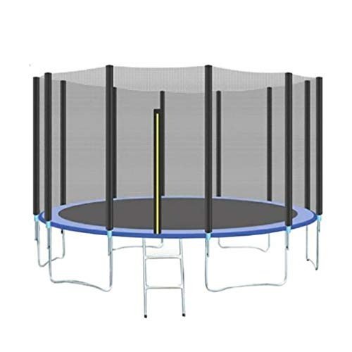 Fvdsghdf Trampoline, Indoor mini sports trampoline, Outdoor trampoline for children and adults, Outdoor large bungee bed with protective net, Fitness Equipment, Best fitness and weight loss home gym