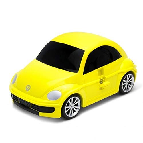 Ridaz Wolkswagen Beetle Equipaje Infantil 49 cm, 32 litros, Amarilla