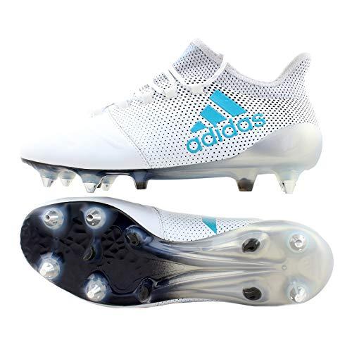 adidas X 17.1 Sg Leather - ftwwht/Eneblu/clegre, Größe:6