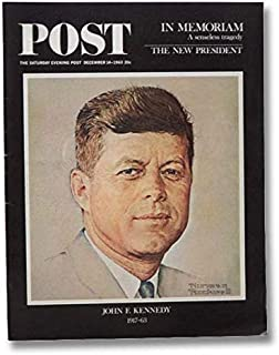 The Saturday Evening Post Magazine - December 14 1963 - President John F Kennedy in Memoriam Issue ( Norman Rockwell Cover )