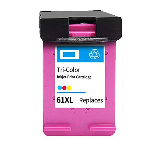 Cartucho de tinta 61XL compatible, reemplazo para cartucho de tinta HP 61XL, trabajo con envidia 4500 2620 3510 1510, 600 páginas color