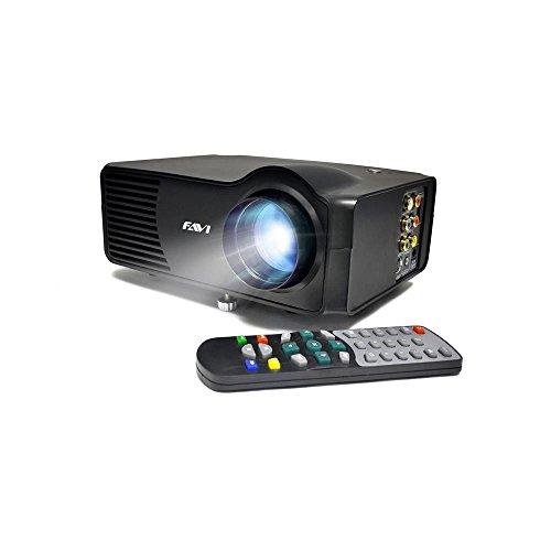 FAVI LED-3 LED LCD (SVGA) Mini Video Projector - US Version (Includes...