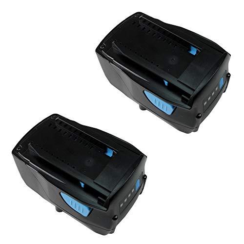 2 x batería li-ion de alto rendimiento, 21,6 V/4000 mAh equivalente a...