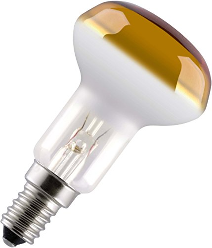 Reflektorlampe R50 NR50 E14 40 Watt GELB Strahler Spot Birne Licht