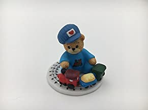 Lucy & Me Series (Enesco) **Boy Bear Playing with Train ** 250260