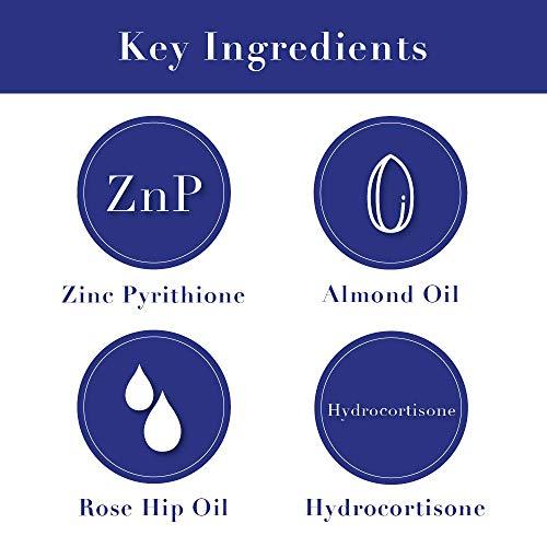 Noble Formula 1% Hydrocortisone Cream with .25% Pyrithione Zinc (Znp), 4 oz