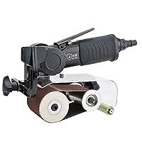 プロフェッショナル ポータブル空気圧ベルトマシン、60 * 260ミリメートルベルト研磨機、研磨機製図機