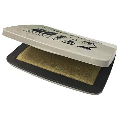 サンビー スタンプ台 スタンプパッド ericデザイン ゴールド SPE-G02