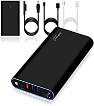 BatPower ProE 2 ES7B Portable Charger External Battery Power Bank for Surface Laptop, Surface Book, Book 2, Surface Pro 4/3 / 2 and RT, USB QC 3.0 Fast Charging for Tablet or Smartphone -98Wh