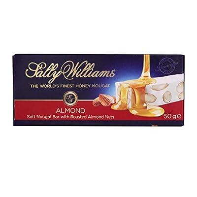 sally williams finest handmade soft nougat bars - roasted almond 50g (pack of 12) Sally Williams Finest Handmade Soft Nougat Bars – Roasted Almond 50g (Pack of 12) 41epDSwHXlL
