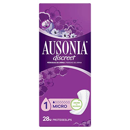 AUSONIA Discreet protege slips de incontinencia micro paquete 28 uds