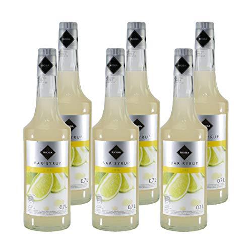 Rioba Lime (Limette) Bar-Syrup (6 x 0,7L)