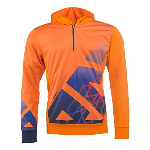 HEAD Herren Vision Radical Hoody Men Trainingsanzüge, orange, M