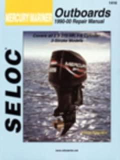 New Seloc Mercury Outboard Motor Engine Repair Manual 1990-00 2 Stroke SEC 1416