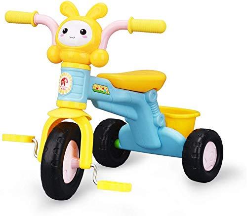 FEE-ZC Triciclo Universale per Bambini con Pedale Balance Bike per Bambini Bicicletta di 10-24 Mesi
