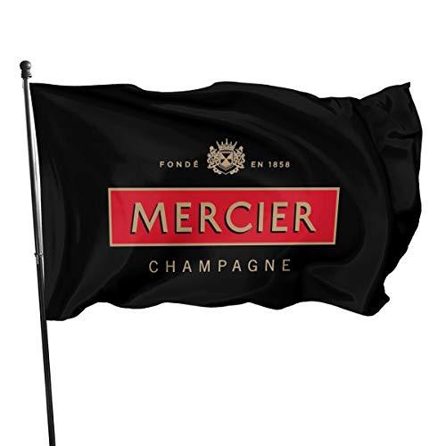 Champagne Mercier Fahnen Flagge Flag Banner Polyester Material Gartenbalkon Gartendekoration Im Freien 90x150cm