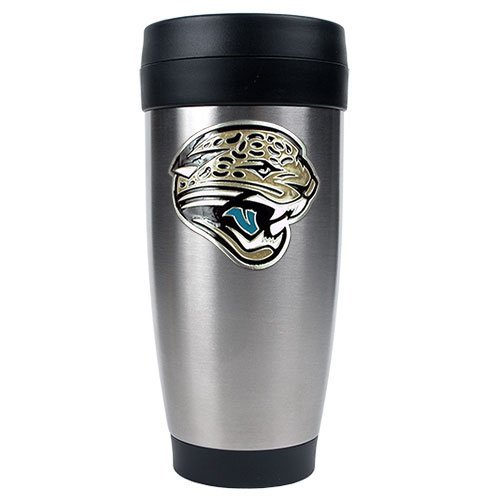 Jacksonville Jaguars NFL 2pc Rocks Glass Set - Helmet logo