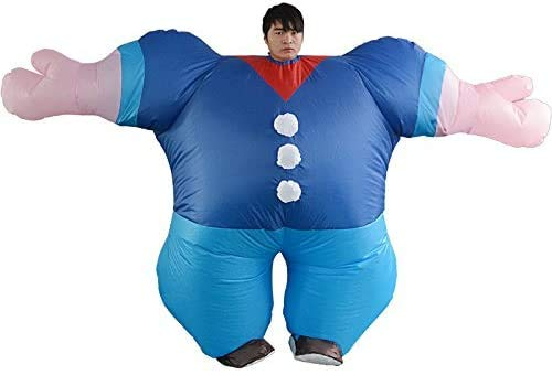 Bühnenperformance Kostüm Hercules aufblasbares Kostüm Cartoon Walking Hercules Seemann aufblasbares Cartoon Kostüm Erwachsenenmodell (Höhe 150-195cm)