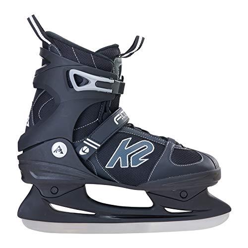 K2 Herren Schlittschuhe FIT ICE - Schwarz-Grau - EU: 43.5 (US: 10 - UK: 9) - 25A0000.1.1.100