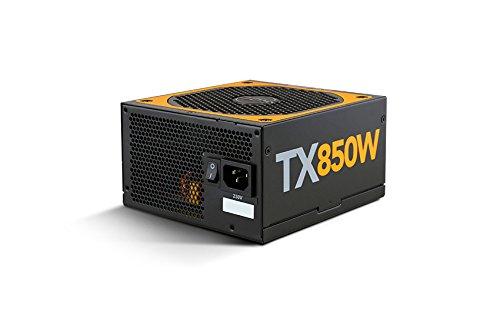 NOX Urano PC-Netzteil-Einheit TX 850W Bronze Edition 850W ATX schwarz, orange –(850W, 200–240, 47–63, aktiv, 130W, 840W)
