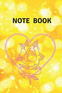 Note Book: notebook ,size 6*9 and 120 pages ,With a beautiful and attractive cover