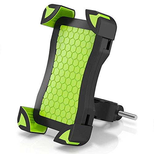 Soporte para Teléfono Soporte para Teléfono para Bicicleta Manillar De Motocicleta Soporte para Teléfono Celular Cochecito Soporte para Teléfono para Bicicleta Soporte para Samsung iPhone Verde