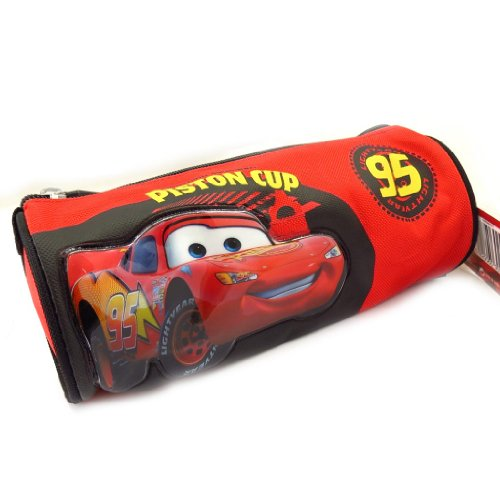 Cars [K5467] - Trousse Tube 'Cars' Rouge Noir