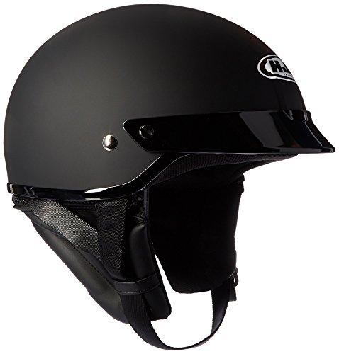 HJC Helmets 0821-0135-05 CS-2N Helmet (Flat Black, Medium)