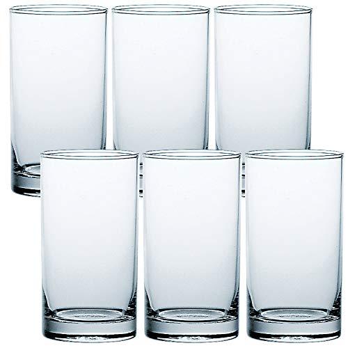 タンブラー HS 6個 セット グラス 食洗機対応 275ml 05100HS