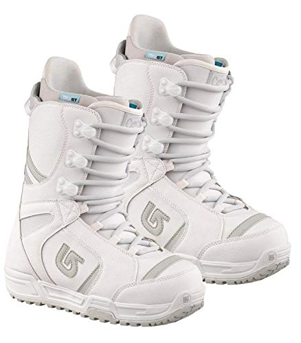 Burton Coco Cocco Linered Snowboard Boots - White, Women's 7-8 (White 2nd, Womens 7)