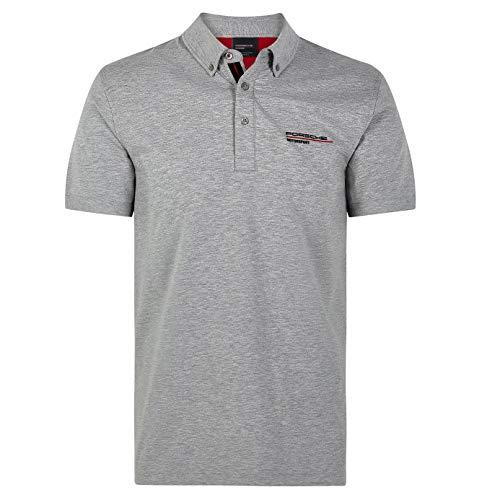 Porsche Motorsport Men's Gray Polo (2XL)