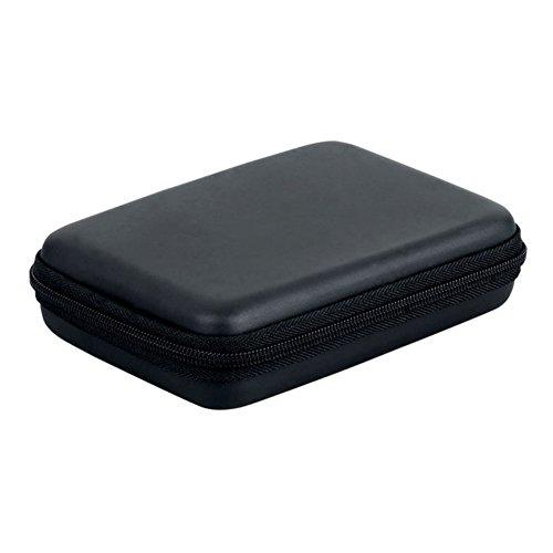 SODIAL(R) Multifonctions Etui Sac Housse Pochette Case Rigide pour Disque durs externes Portables 2,5 Pouces Anti-Choc l'eau - Noir