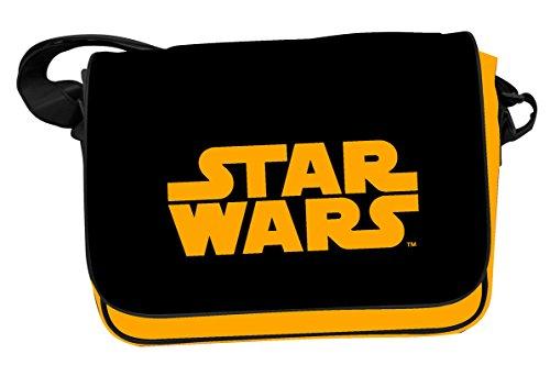 Star Wars - Bolsa Bandolera Logo Star Wars en Color Naranja