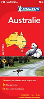 Carte NATIONAL Australie de Collectif Michelin