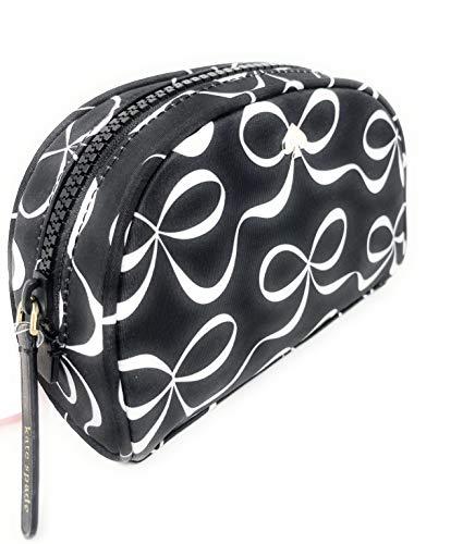 Kate Sapde Medium Dome Cosmetic Make-Up Travel Bag Black
