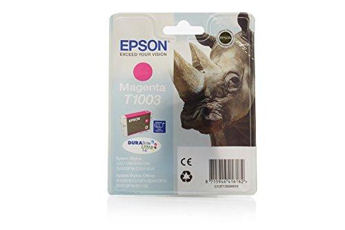 Ink cartridge Original Epson 1x Magenta C13T10034010 / T1003 XXL for Epson Stylus Office B 1100