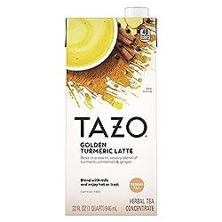 TAZO Tea Concentrate Golden Turmeric Latte 32 oz, Herbal Tea (10794522000576)