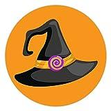 100 pegatinas de Halloween para niños Halloween bruja sombreros...