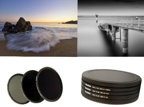 Nuovo: HAIDA PRO II Digital MC - Set filtri neutri composto da ND8, ND64, ND1000 77mm incl. contenitore per filtri + coprilente con manico interno