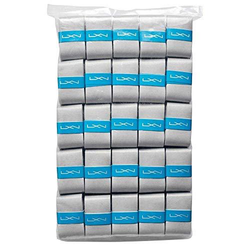 Luxilon Juego de sobreempuñaduras Elite Dry, 3 recambios, Gris, WRZ470703